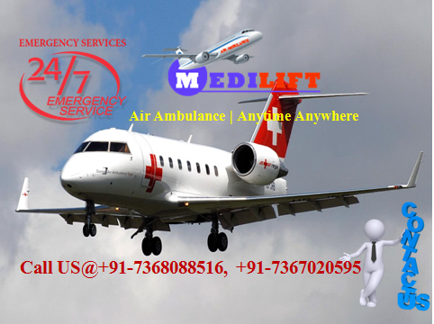 Air Ambulance delhi