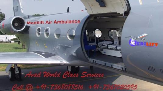 Air Ambulance Service in Allahabad