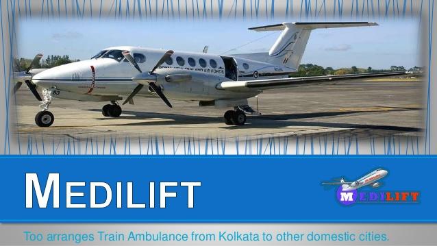 air ambulance kolkata to new Delhi