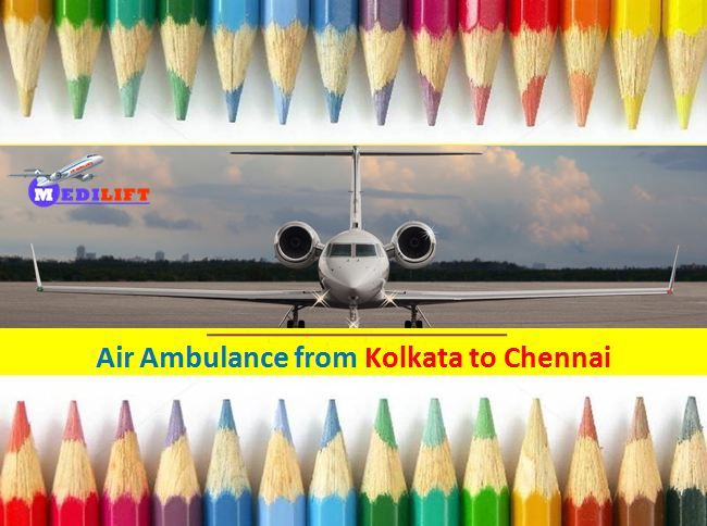 Air Ambulance cost from Kolkata to Chennai