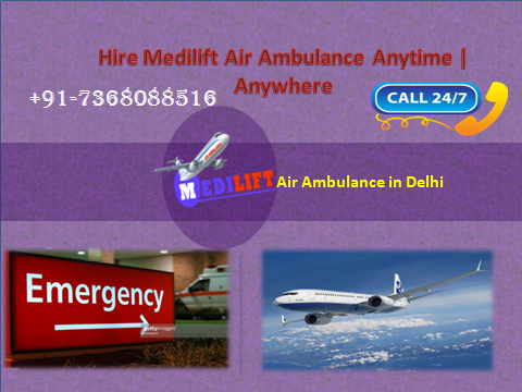 air ambualnce in delhi