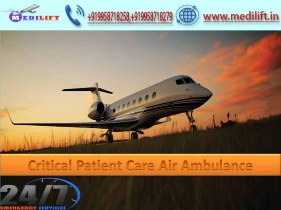 medilift air ambulance delhi