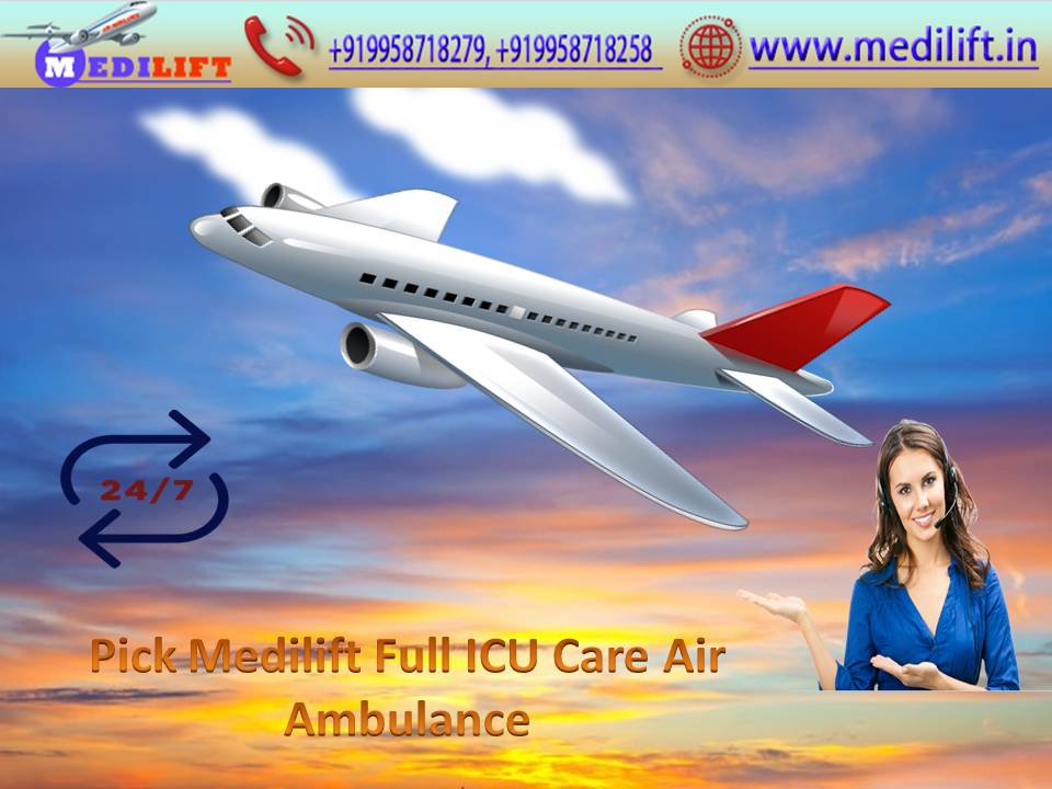 Medilift Air Ambulance in Patna