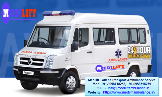 Get Medilift Ventilator Ambulance Service in Ranchi at the Lowest Budget 03